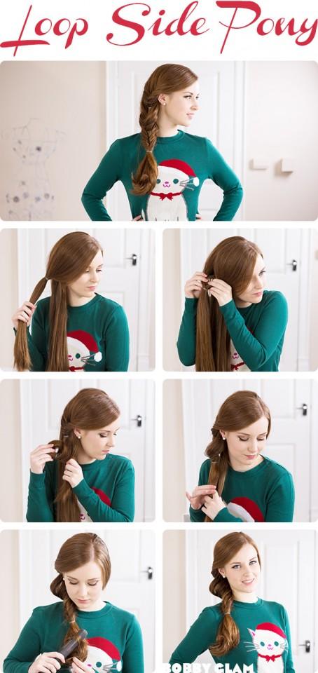 Как сделать быстро и легко красивую прическу на средние волосы