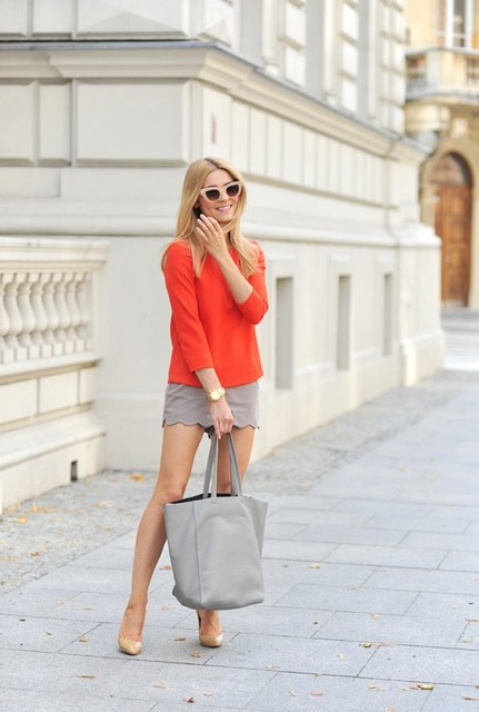 15 Great Combos With Skirts And Sweaters For Fall