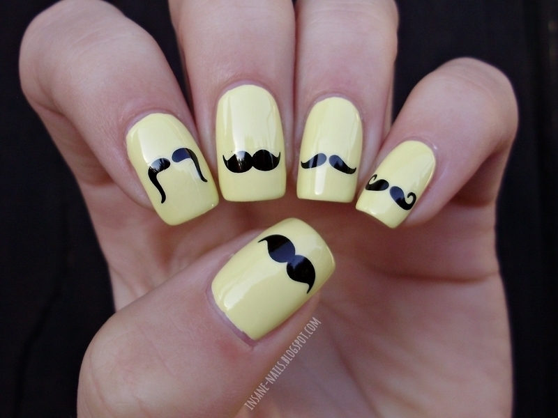 16 Cute Movember Nail Designs