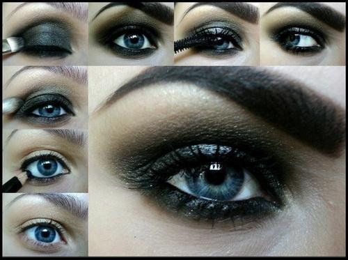 smokey-eye-makeup-for-blue-eyes-tutorial