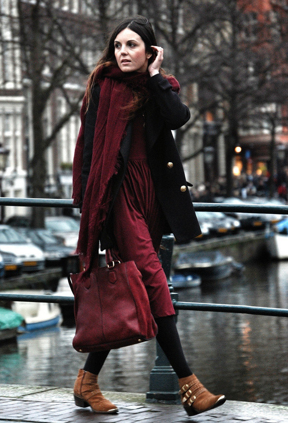 BURGUNDY IS THE NEW BLACK THIS FALL