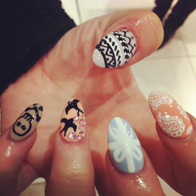 how to get oval shaped nails