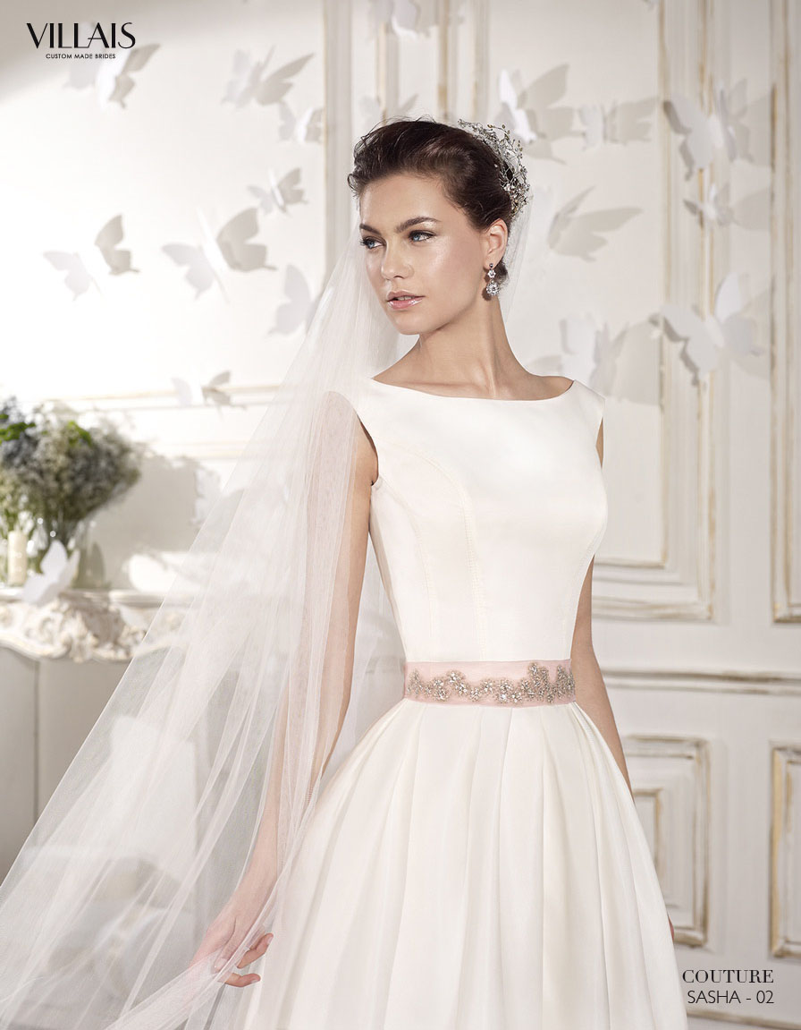 ROMANTIC BRIDAL COUTURE BY VILLAIS 2015