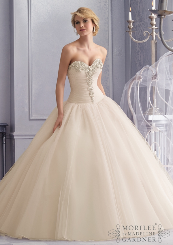 35 Wonderful Bridal Gowns from Mori Lee by Madeline Gardner