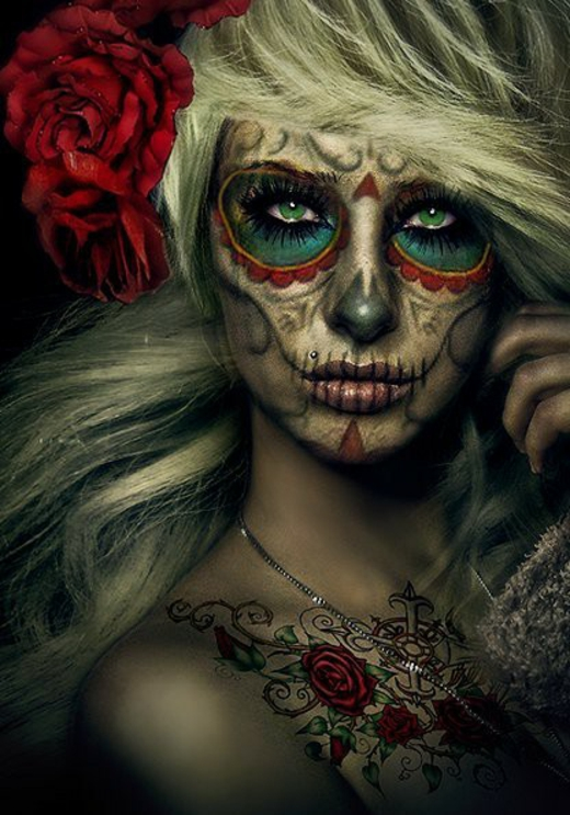woman-make-up-halloween