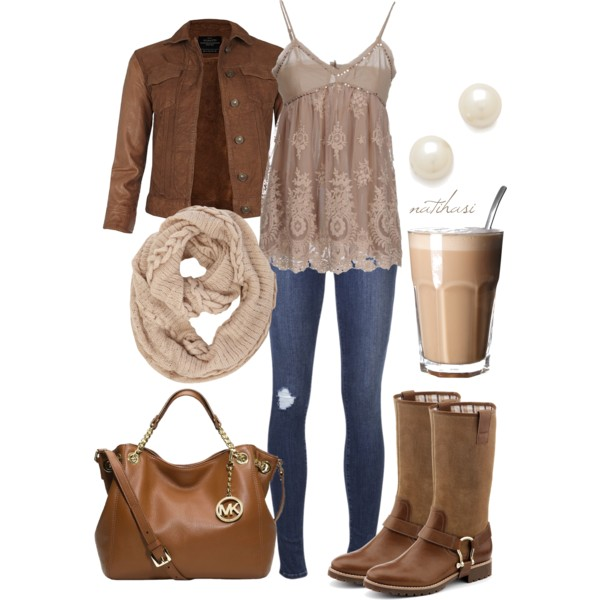 15 Cute Polyvore Combinations With Leather Jackets For