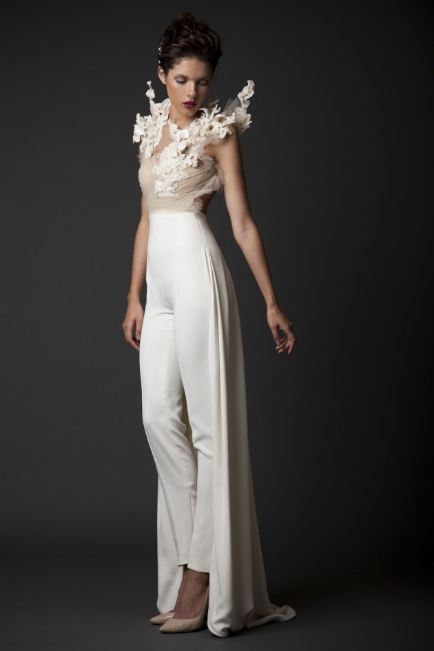 The Stunning Bridal Collection AMAL By KRIKOR JABOTIAN for F/W 2014-2015