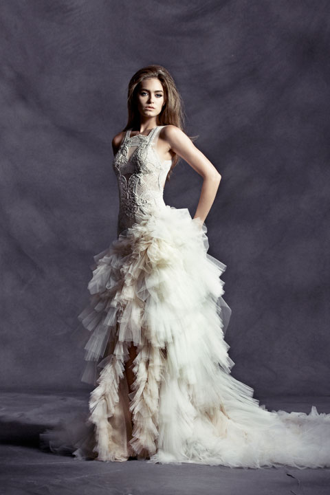 """La Promesse"" – Magnificient Wedding Dress Collection by Pallas Couture"