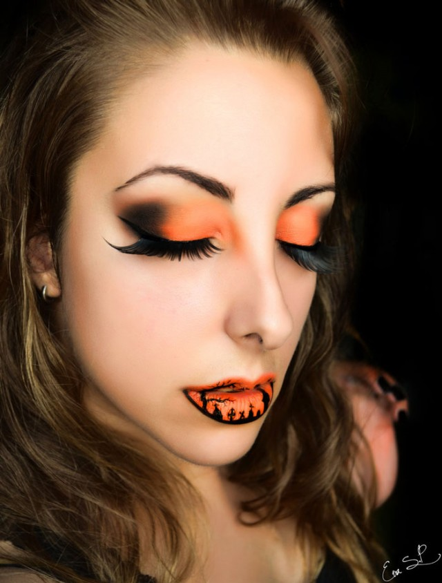 Creepy-Halloween-Lip-Art-by-Eva-Senín-Pernas-01