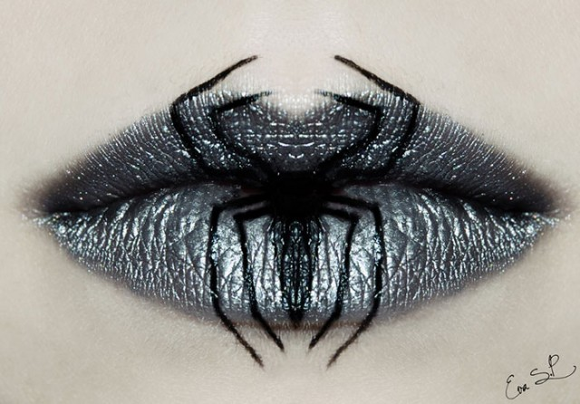 Creepy-Halloween-Lip-Art-by-Eva-Senín-Pernas-02