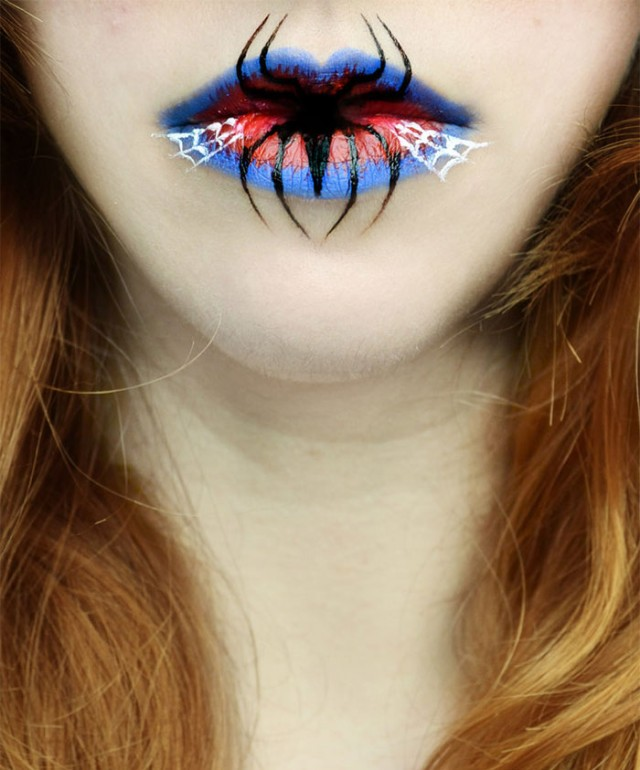 Creepy-Halloween-Lip-Art-by-Eva-Senín-Pernas-05