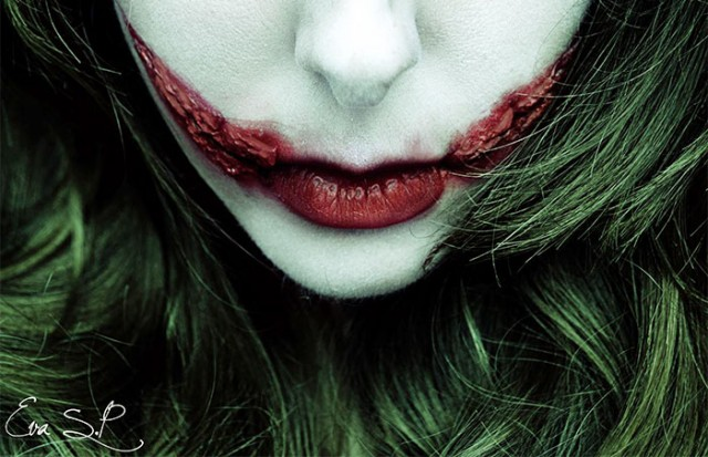 Creepy-Halloween-Lip-Art-by-Eva-Senín-Pernas-07