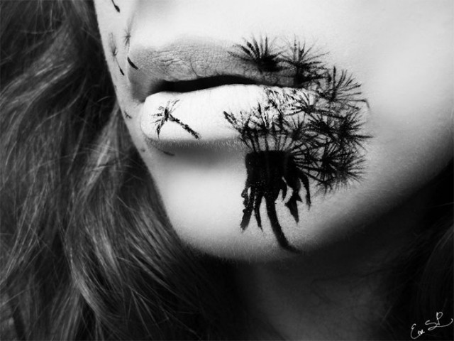 Creepy-Halloween-Lip-Art-by-Eva-Senín-Pernas-09