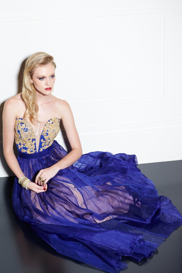 Outstanding Evening Gowns By Lia Rabello For Winter 2014
