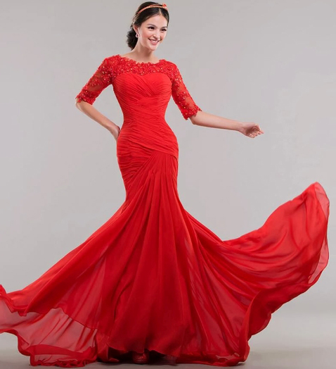 Say Yes To The Red Wedding Dress