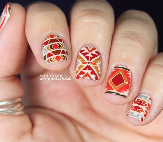 Gorgeous Autumn Inspired Nails: 16 Outstanding Fall Inspired Nail Arts