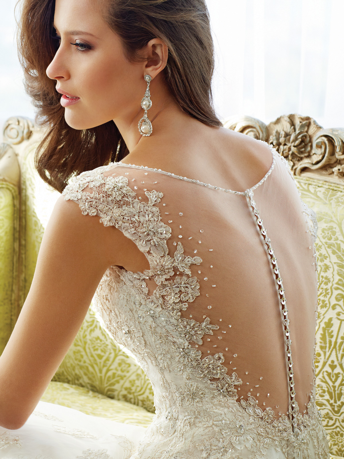 Fascinating Wedding Gowns by Sophia Tolli's Spring 2015 Collection