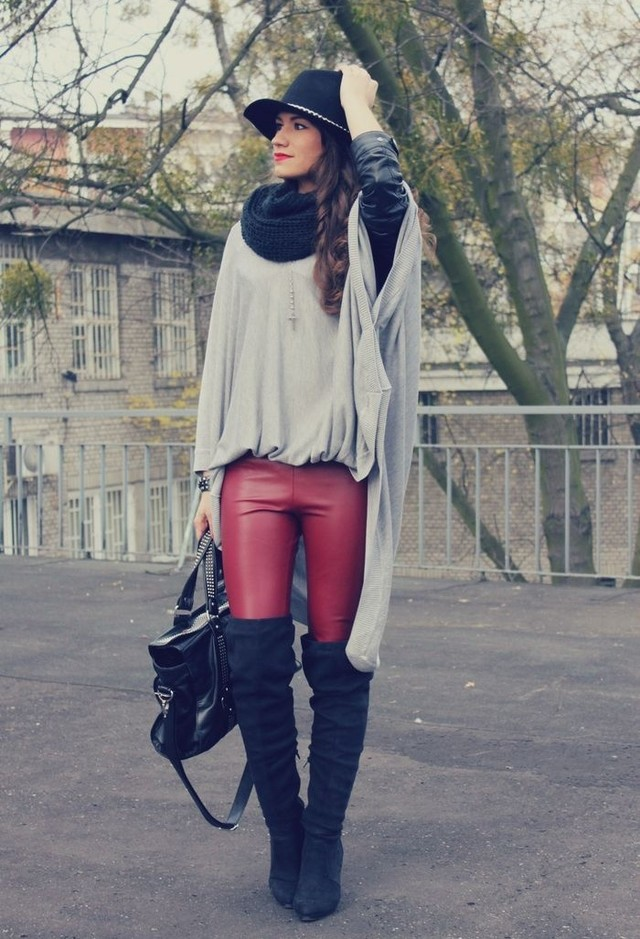 15 Great Ways To Style An Infinity Scarf This Winter