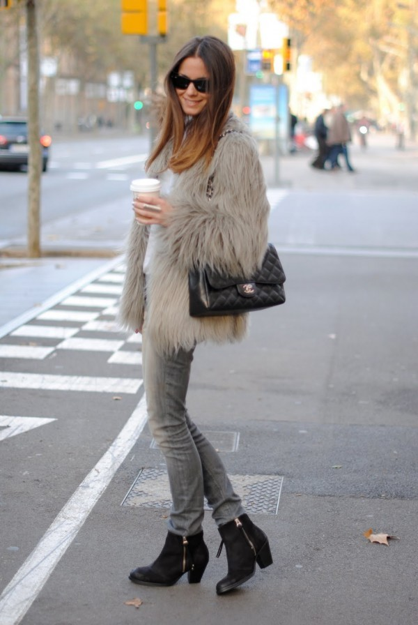 HOW TO ROCK A FAUX FUR COAT THIS WINTER