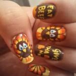 Inspiring Thanksgiving Nail Designs