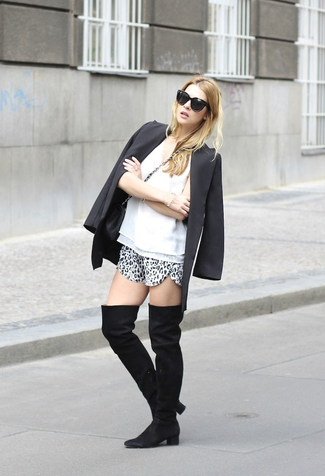 Trend Alert: Black Over-Knee Boots