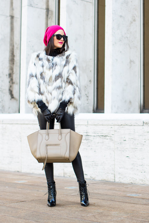 15 Classy And Stylish Ways To Wear Fur Coats This Winter