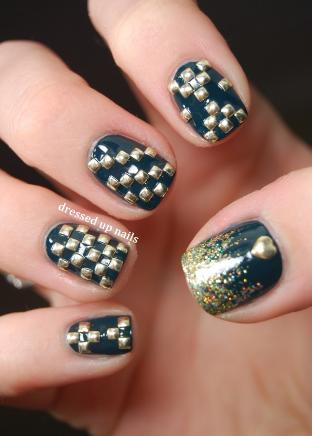 15 Attention-Grabbing Manicure Ideas With Studs