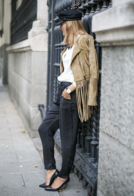 16 Chic Outfits With Fringes