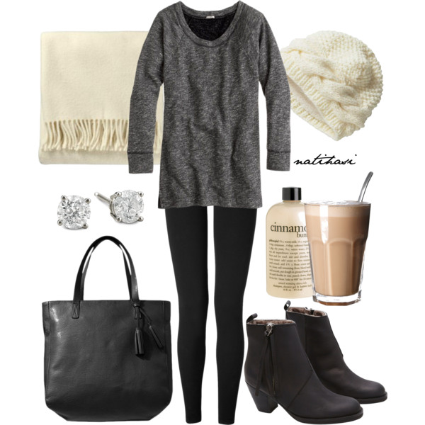 15 Cute Winter Outfits With Leggings