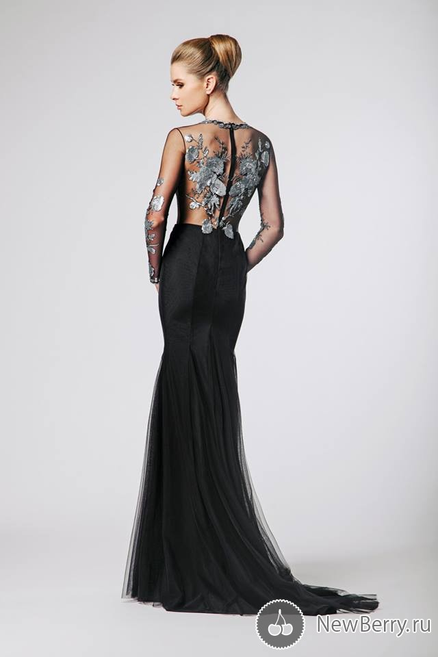 The Autumn/Winter Collection Of Fabulous Evening Dresses By Nadine Zeni For 2015