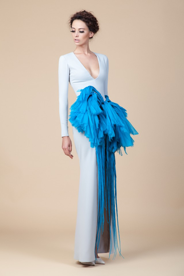 DRAMATIC FALL/WINTER 2015 COLLECTION BY JEAN LOUIS SABAJI