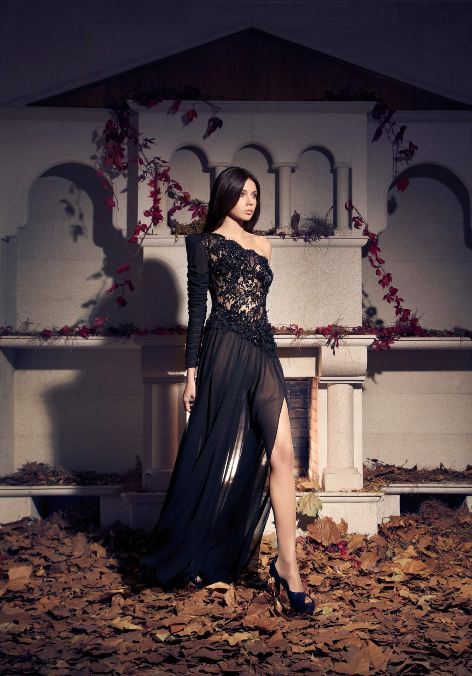 Eye-Catching Evening Dresses By Tarek Sinno For A/W 2014-2015