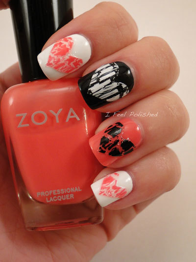 Hearts-made-with-crackle-nail-paint-art