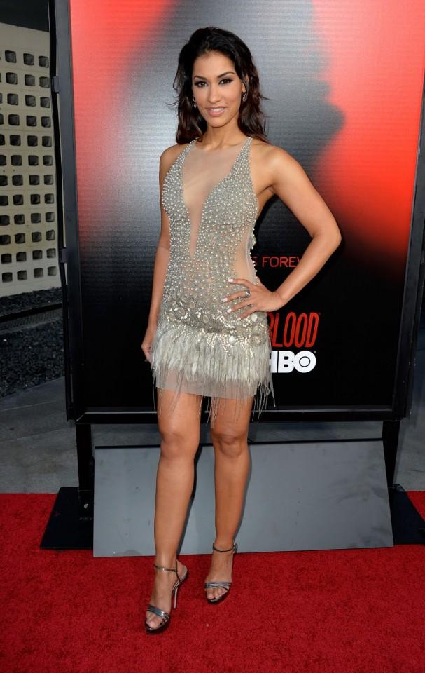 Janina Gavankar - True Blood - Season 6 premiere in Los Angeles - June 11, 2013 -02