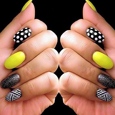 Mix-match-nails-art