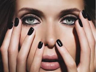 black nail polish poll fashion