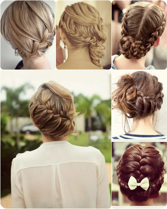 braided-updo-for-date-night-with-long-human-hair-extension