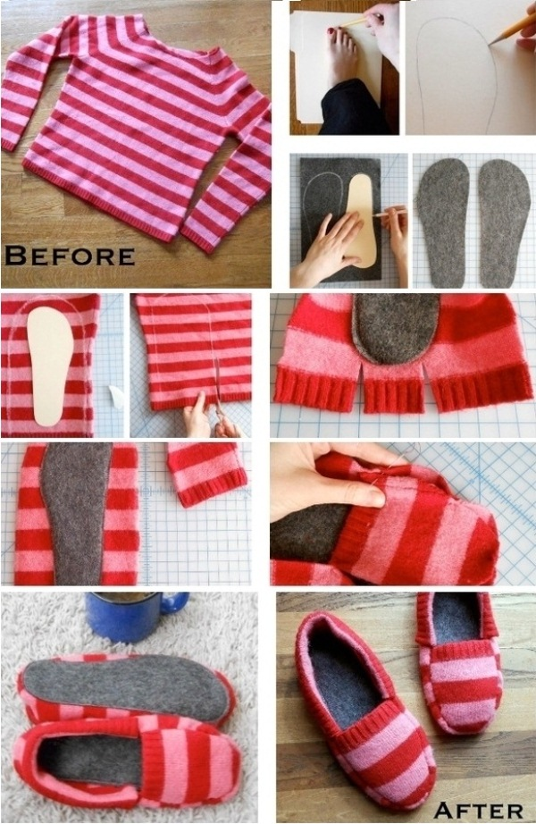 diy-sweater-slippers-home