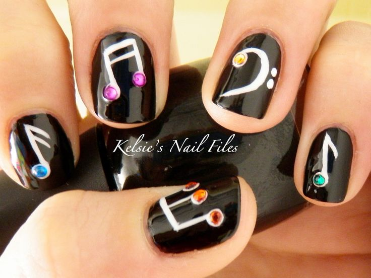 Music Inspired Nail Designs
