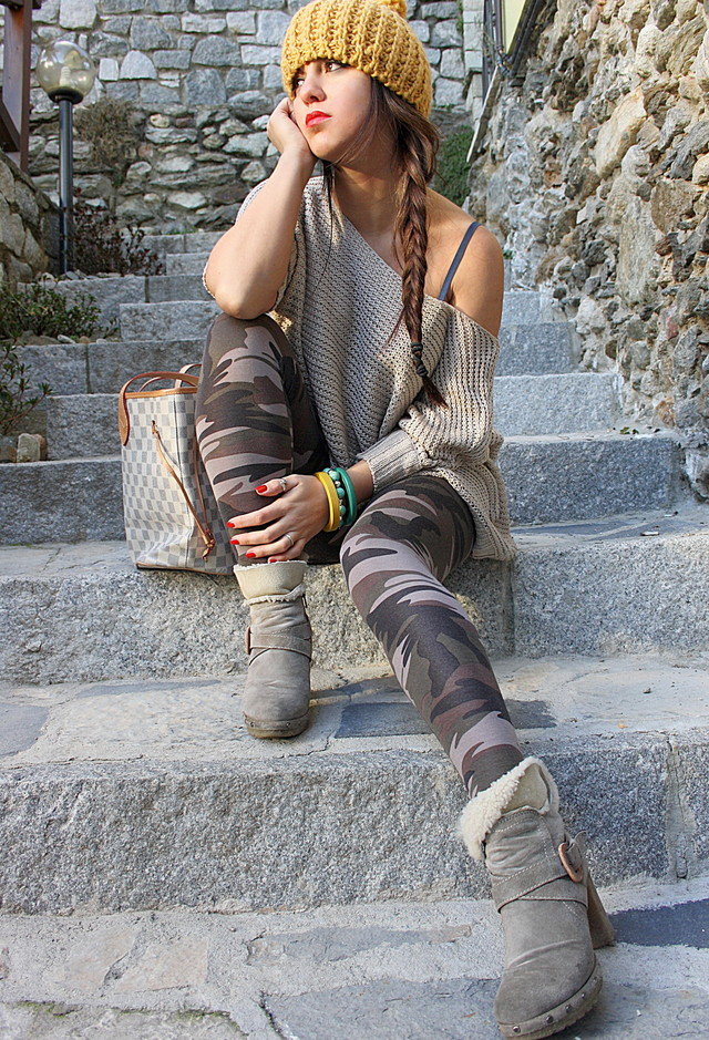 Make a Statement With an Army Green Piece of Clothes