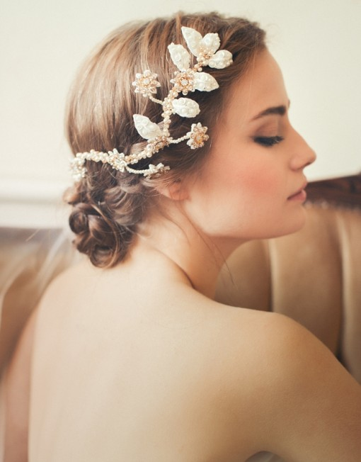 Lovely Bridal Headpieces 2015 by Jannie Baltzer
