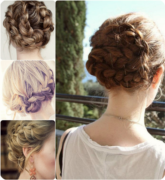 trend-and-fabulous-braided-updo-night-date-hairstyle-with-cheap-hair-extension-clip-in