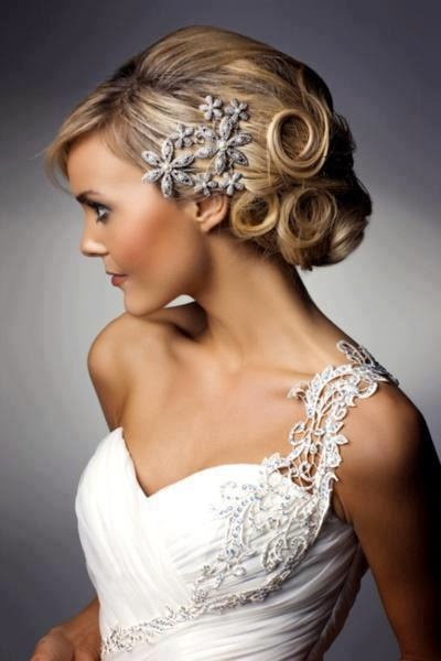 vintage weddind hairs