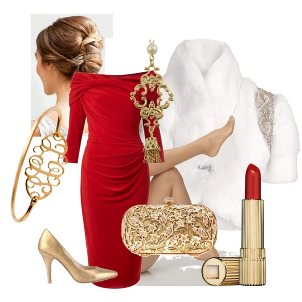 The Best 16 Polyvore Outfits For Christmas Party