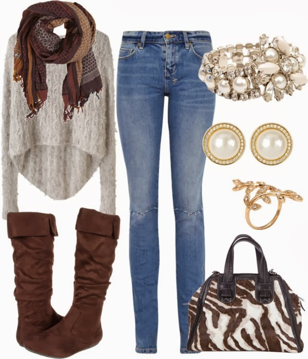 15 Must-Try Polyvore Outfits For The Cold Winter