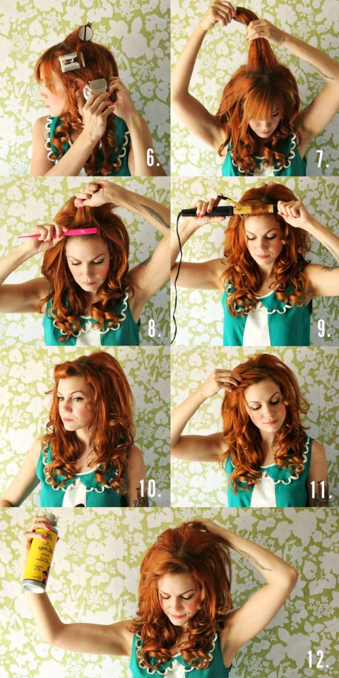 Cool How To Make Big Curls In Your Hair With A Curling Iron Best Hairstyles For Women Draintrainus