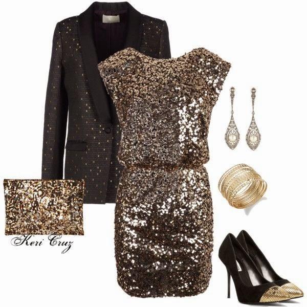 Outfits o Conjuntos para Fiestas de Año Nuevo 14