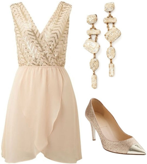 15 elegant and shiny readytogo outfits for the festivities