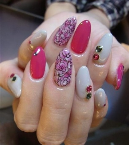 Superb-Yet-Creative-Pink-Nail-Art-Designs-And-Galleries-For-Beginners-4
