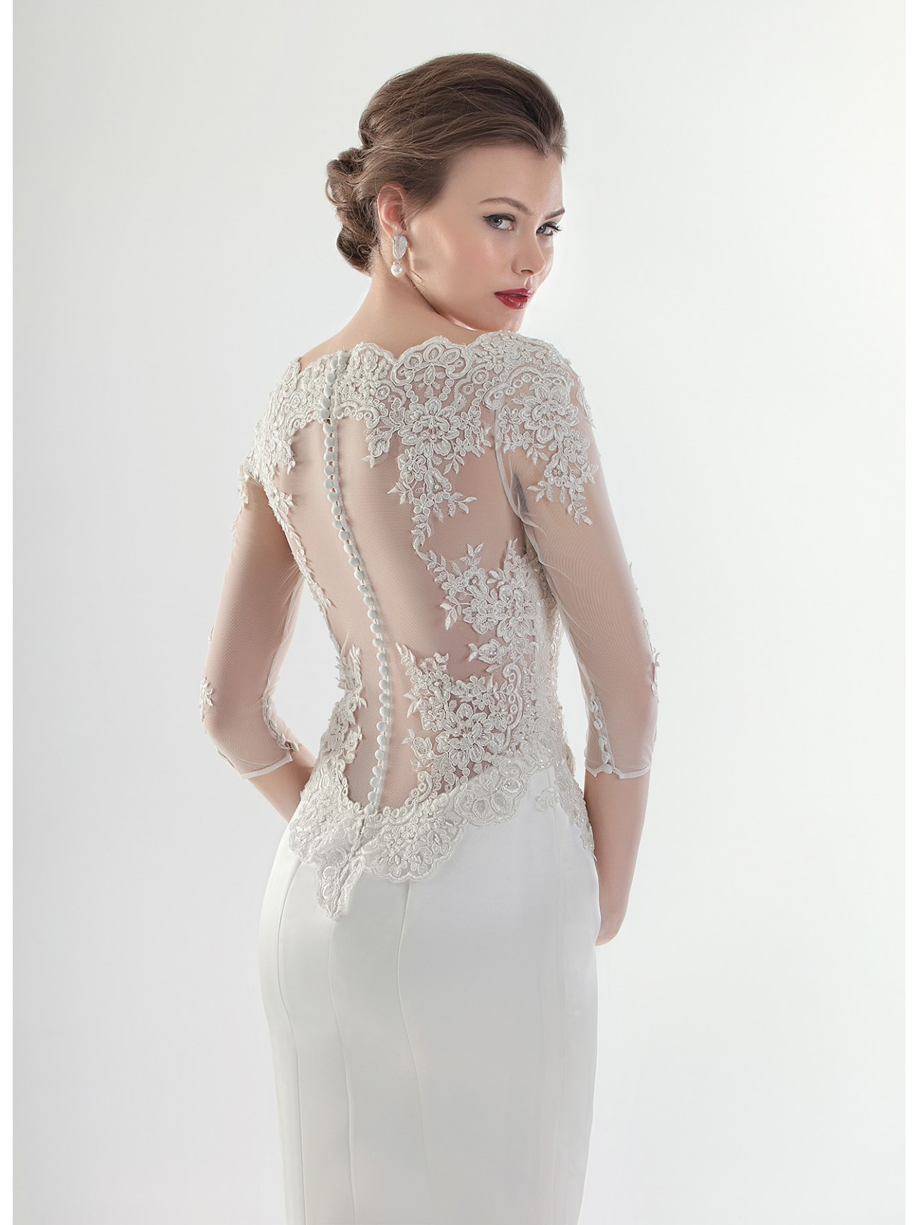 Bridal 2015 Collection by Pepe Botella: White and Pure Apple